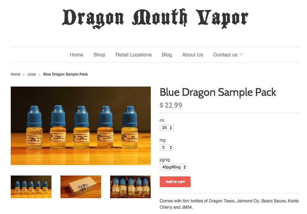 Dragon Mouth Vapor